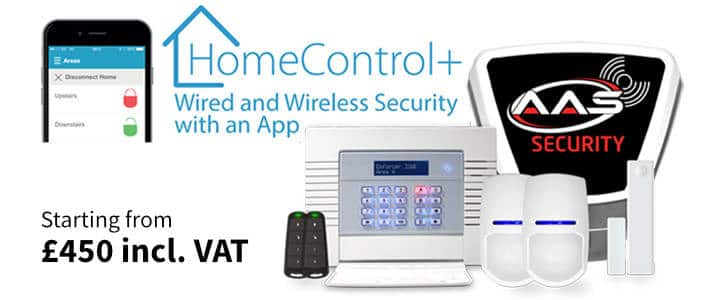 Alarm System with Home Control