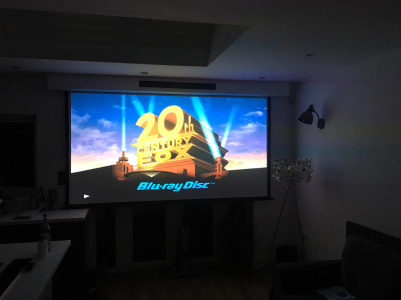 Final product: home theater
